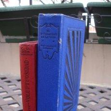 Libros antiguos: LOTE DE DOS NOVELAS ANTIGUAS. Lote 34470826