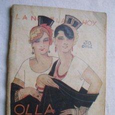 Libros antiguos: OLLA PODRIDA. LEÓN, RICARDO. 1926. Lote 35259075
