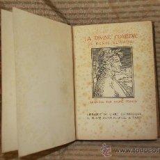 Libros antiguos: 2302- LA DIVINE COMEDIE. DANTE ALIGHIERI. EDIT. LIBRAIRIE DE L'ART. PARIS 1923.. Lote 35325846