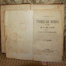 Libros antiguos: 2487. VELADAS DEL INVIERNO. MARIA DEL PILAR SINUES. EDIT. SALVADOR MANERO. 1866 2 TOMOS 1 VOL.. Lote 35773265