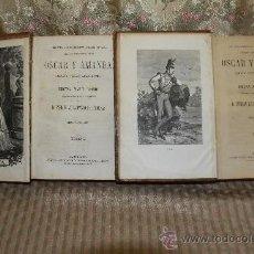 Libros antiguos: 2489- OSCAR Y AMANDA. REGINA MARIA ROCHE. EDIT. ESPASA. S/F. 2 TOMOS. . Lote 35773629