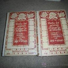 Libros antiguos: DEUDA DEL CORAZON-EL ANGEL DE LA GUARDA JOSE SELGAS MONTANER Y SIMON 1909 2 TOMOS . Lote 36133455