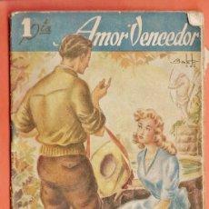 Libros antiguos: ANTIGUO LIBRO NOVELA - AMOR VENCEDOR - ARTURO HERRERA - ED. HISPANO AMERICANA. Lote 36493977