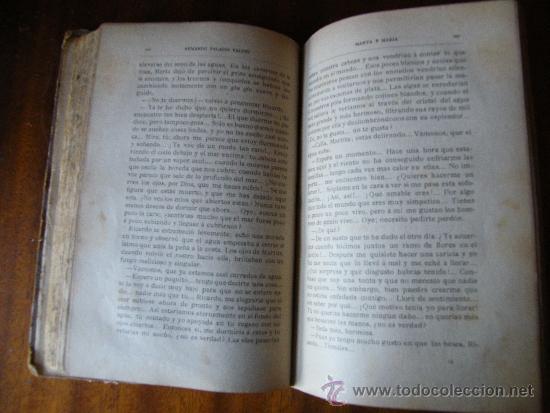 Libros antiguos: MARTA Y MARÍA / Armando Palacios - Foto 3 - 36796665