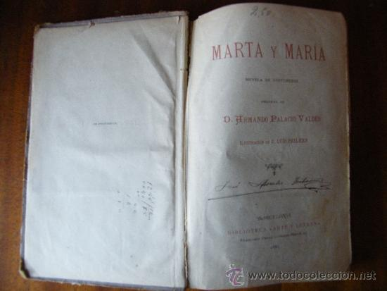 Libros antiguos: MARTA Y MARÍA / Armando Palacios - Foto 5 - 36796665