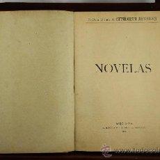 Libros antiguos: 3745- NOVELAS. CATALUNYA ARTISTICA. ADM. RAURICH. VARIOS TITULOS ENCUADERNADOS. 1901.. Lote 39068862