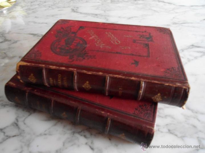 ABELARDO Y ELOISA (HISTORIA DE DOS MARTIRES) D. RAMON ORTEGA Y FRIAS 2 TOMOS COMPLETA (1870) (Libros antiguos (hasta 1936), raros y curiosos - Literatura - Narrativa - Novela Romántica)