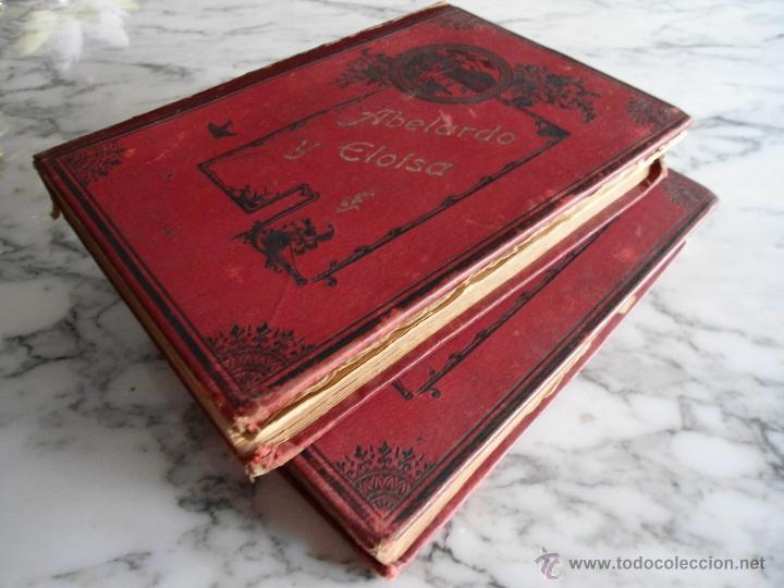 Libros antiguos: ABELARDO Y ELOISA (HISTORIA DE DOS MARTIRES) D. RAMON ORTEGA Y FRIAS 2 TOMOS COMPLETA (1870) - Foto 8 - 39403935