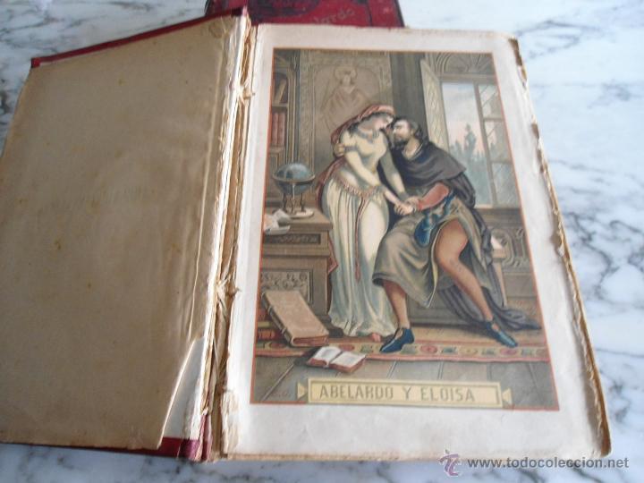 Libros antiguos: ABELARDO Y ELOISA (HISTORIA DE DOS MARTIRES) D. RAMON ORTEGA Y FRIAS 2 TOMOS COMPLETA (1870) - Foto 4 - 39403935