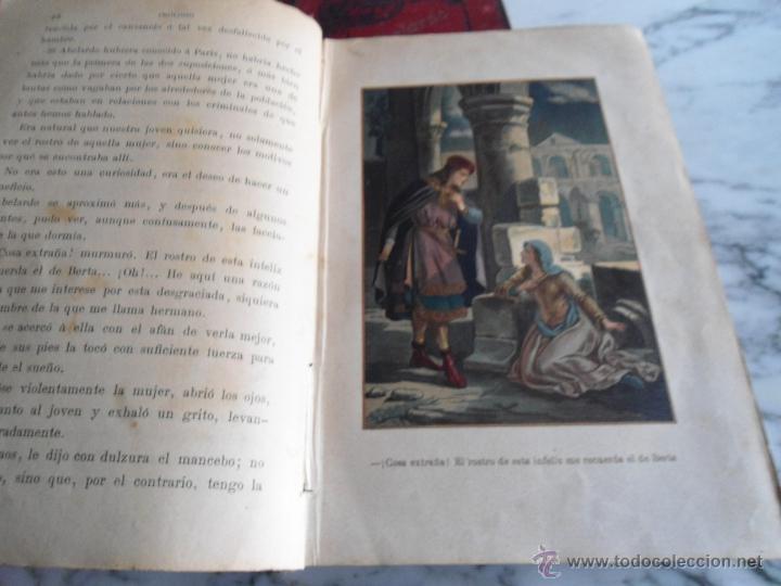 Libros antiguos: ABELARDO Y ELOISA (HISTORIA DE DOS MARTIRES) D. RAMON ORTEGA Y FRIAS 2 TOMOS COMPLETA (1870) - Foto 5 - 39403935