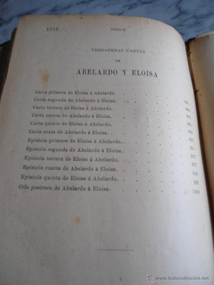 Libros antiguos: ABELARDO Y ELOISA (HISTORIA DE DOS MARTIRES) D. RAMON ORTEGA Y FRIAS 2 TOMOS COMPLETA (1870) - Foto 7 - 39403935