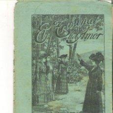 Libros antiguos: 1 CUADERNILLO PRINCIPIO DE 1900 - EL TRIBUNAL DEL AMOR - A. CONTRERAS - CUADERNO 8 - 1 REAL. Lote 39783931