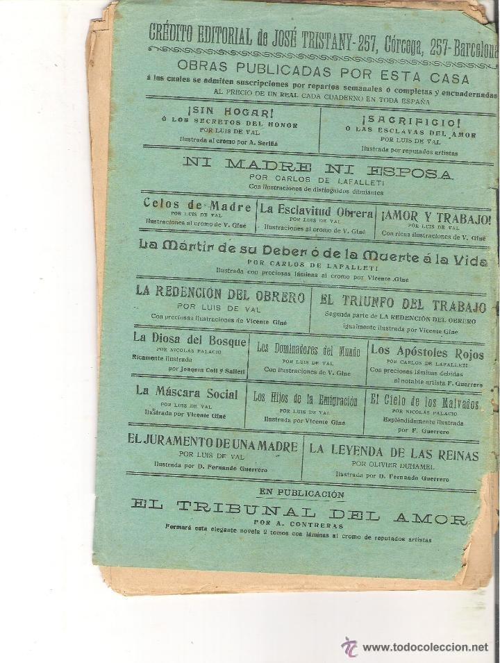 Libros antiguos: FOTO ORIENTATIVA PARTE TRASERA - Foto 3 - 39786956