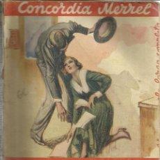 Libros antiguos: POR EXTRAÑA COINCIDENCIA. CONCORDIA MERREL. EDITORIAL JUVENTUD. MARCELONA. 1936. Lote 39852562