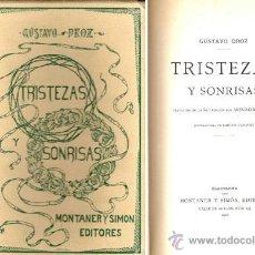 Libros antiguos: TRISTEZAS Y SONRISAS – AÑO 1906 . Lote 41091131