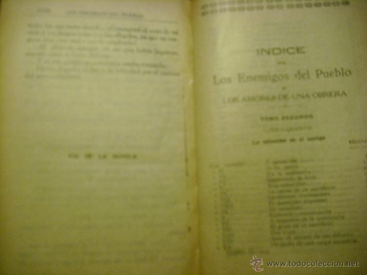 Libros antiguos: LOS ENEMIGOS DEL PUEBLO. TOMO 2. ANTONIO CONTRERAS. EDITOR MANUEL CASTRO - Foto 9 - 41272373