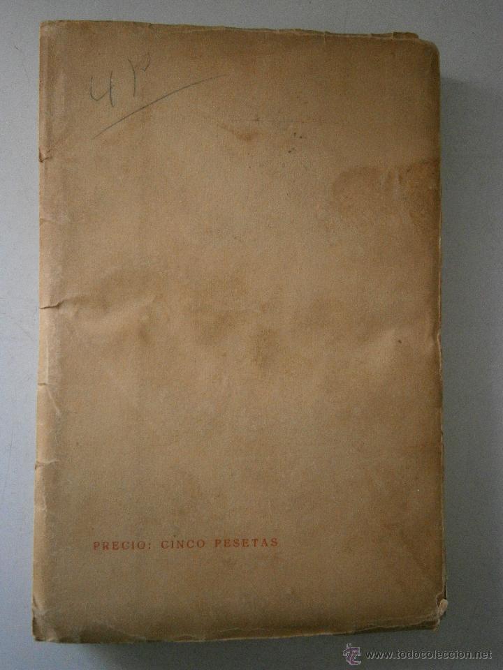 Libros antiguos: DOLOR DE JUVENTUD ROBERTO MOLINA PUEYO 1924 - Foto 3 - 41373610