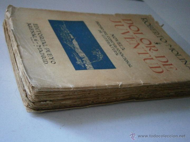 Libros antiguos: DOLOR DE JUVENTUD ROBERTO MOLINA PUEYO 1924 - Foto 4 - 41373610
