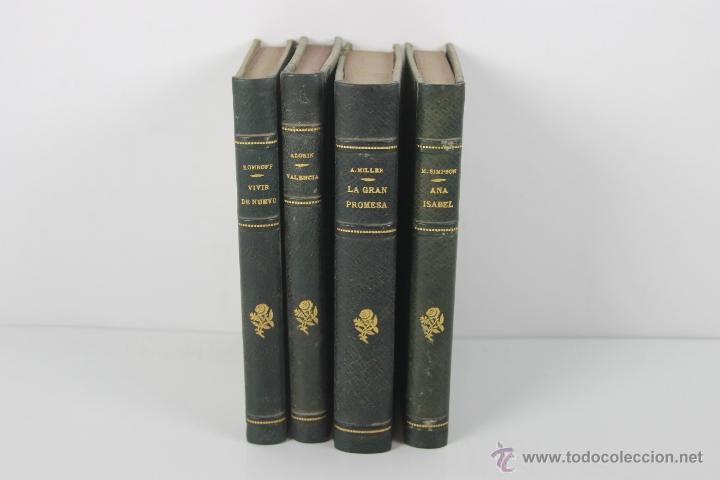 Libros antiguos: 4447- COLECCION DE 4 NOVELAS EDIT. PLANETA Y BIBLIOTECA NUEVA. 1900. VER DESCRIPCION. - Foto 7 - 41403337