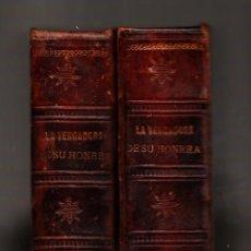 Libros antiguos: LA VENGADORA DE SU HONRA TOMO I Y II SALVADOR CARRERA ILUSTRACIONES DE A. SERIÑÁ. Lote 41529340