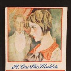 Libros antiguos: LIBRO EL AMULETO DE LA RANI. LA NOVELA ROSA. Nº91 - H. COURTHS MAHLER - AÑOS 30 - PRENSA ESPAÑOLA. Lote 185947636
