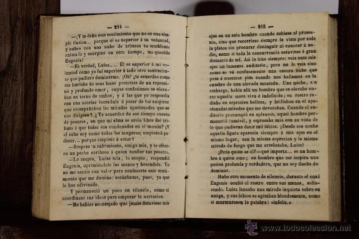 Libros antiguos: D-046. LA MANO DEL MUERTO. ALEJANDRO DUMAS. IMP. CRISTOBAL GONZALEZ. 1867. 2 TOMOS 1 VOL. - Foto 2 - 41709397