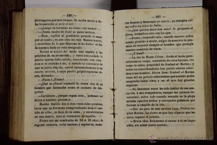 Libros antiguos: D-046. LA MANO DEL MUERTO. ALEJANDRO DUMAS. IMP. CRISTOBAL GONZALEZ. 1867. 2 TOMOS 1 VOL. - Foto 3 - 41709397