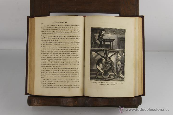 Libros antiguos: D-255. LA ESPOSA ENAMORADA. ANDRES DE ARELLANO. EDIT. J. MOLINAS. 1879 2 TOMOS. - Foto 3 - 42263330