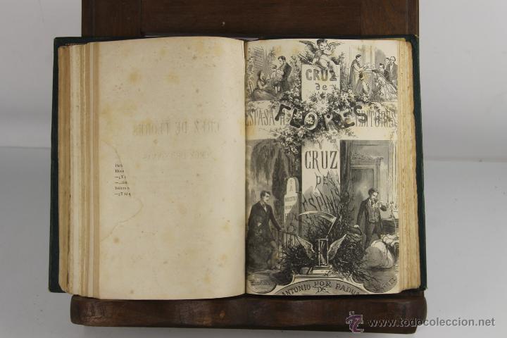 Libros antiguos: D-263. CRUZ DE FLORES Y CRUZ DE ESPINAS. ANTONIO DE PADUA. EDIT ESPASA. S/F. 2 TOMOS 1 VOL. - Foto 3 - 42265747