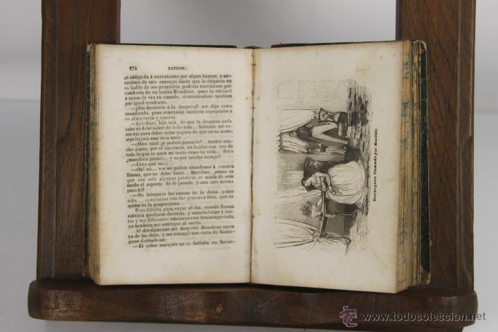 Libros antiguos: D-265. MATILDE O MEMORIAS DE UNA JOVEN. M.E. SUE. TIP. P. MELLADO. 1846. 3 VOL. - Foto 4 - 42266144