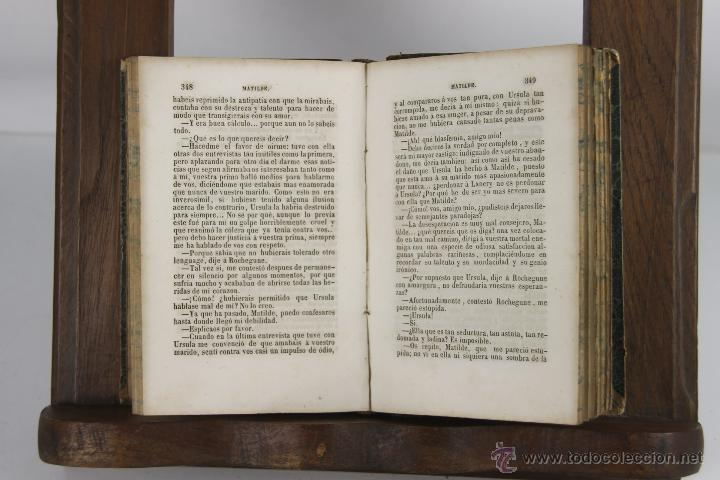Libros antiguos: D-265. MATILDE O MEMORIAS DE UNA JOVEN. M.E. SUE. TIP. P. MELLADO. 1846. 3 VOL. - Foto 5 - 42266144