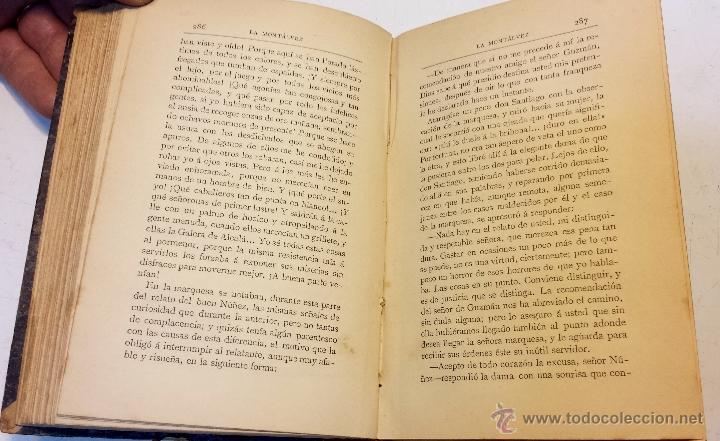 Libros antiguos: LA MONTALVEZ, POR DON JOSE MARIA DE PEREDA. IMPRENTA Y FUNDICION DE M.TELLO. AÑO 1888 - Foto 4 - 42585923