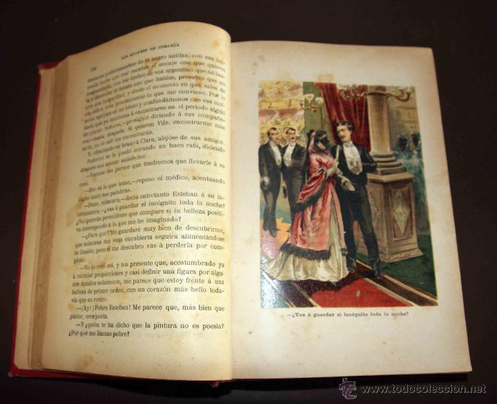 Libros antiguos: LAS MUJERES DE CORAZÓN TOMO 1 Y 2 . ALVARO CARRILLO. RAMON MOLINAS EDITOR - Foto 8 - 43292652