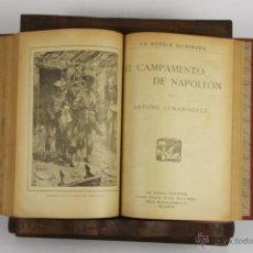 Libros antiguos: D-466. LA NOVELA ILUSTRADA. 9 TITULOS ENCUADERNADOS. VARIOS AUTORES. S/F. . Lote 43310755