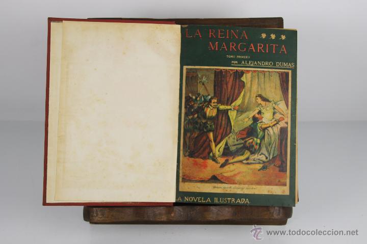 D-469. LA NOVELA ILUSTRADA. 10 OBRAS DE ALEJANDRO DUMAS ENCUADERNADAS. S/F. (Libros antiguos (hasta 1936), raros y curiosos - Literatura - Narrativa - Novela Romántica)