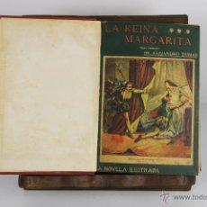 Libros antiguos: D-469. LA NOVELA ILUSTRADA. 10 OBRAS DE ALEJANDRO DUMAS ENCUADERNADAS. S/F.. Lote 43324563