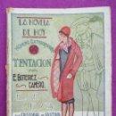 Libros antiguos: LA NOVELA DE HOY, Nº 246, ALMANAQUE, TENTACION, 1927,. Lote 43333398