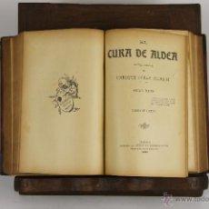 Libros antiguos: D-502. EL CURA DE ALDEA. ENRIQUE PEREZ ESCRICH. LIB. ANTONIO ROMERO. 1906. 2 VOL. Lote 43346165