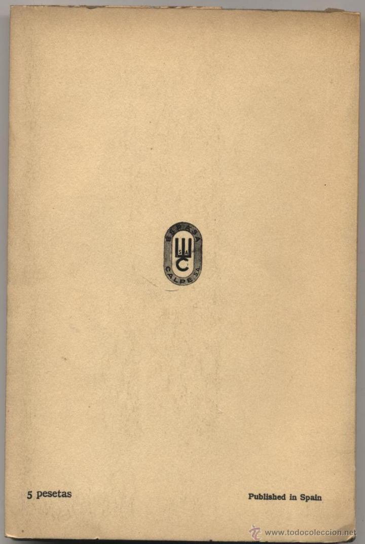 Libros antiguos: Don Amor volvió a Toledo (Félix Urabayen)-contracubierta. - Foto 2 - 43407971