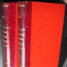 Libros antiguos: LA CAIDA DEL ABATE MOURET- E.ZOLA - TOMOS I - II. Lote 43922758