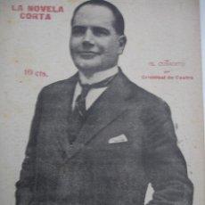 Libros antiguos: LA NOVELA CORTA. EL CUÑADITO POR CRISTOBAL DE CASTRO-AÑO 1920. Lote 43923346