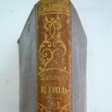 Libros antiguos: L- 590. AVENT. DEL BARONCITO DE FOBLAS. LOUVET DE COUVRAY. TOMO I Y II. SEVILLA. IMP. NACIONAL. 1836. Lote 44169300
