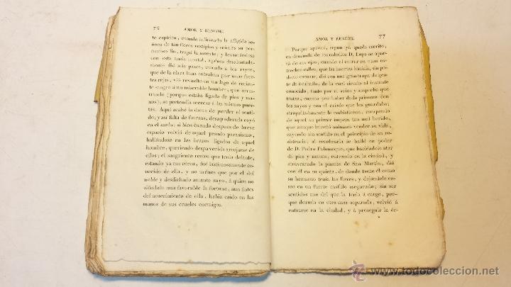 Libros antiguos: AMOR Y RENCOR O SEA PACHECOS Y PALOMEQUES. POR GONZALO DE CESPEDES Y MENESES.AÑO 1833.VER - Foto 4 - 44236916
