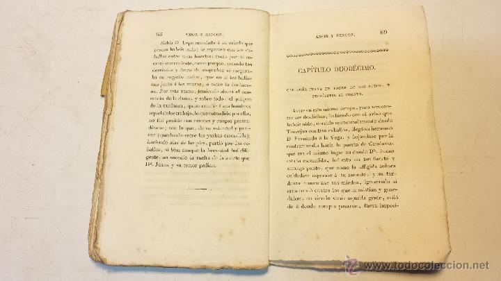 Libros antiguos: AMOR Y RENCOR O SEA PACHECOS Y PALOMEQUES. POR GONZALO DE CESPEDES Y MENESES.AÑO 1833.VER - Foto 5 - 44236916