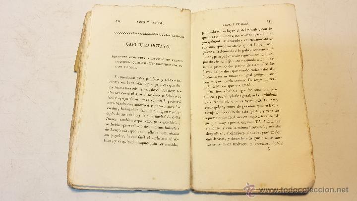 Libros antiguos: AMOR Y RENCOR O SEA PACHECOS Y PALOMEQUES. POR GONZALO DE CESPEDES Y MENESES.AÑO 1833.VER - Foto 6 - 44236916
