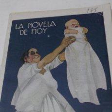 Libros antiguos: ALBERTO INSUA: EL HIJO POSTIZO. LA NOVELA DE HOY Nº 175, 1925, 63 PAG. ILUSTRACIONES DE MAY.. Lote 44453979