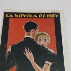 Libros antiguos: V. DIEZ DE TEJADA: RIO ARRIBA. LA NOVELA DE HOY Nº 239. 1926. ILUSTRACIONES DE PUIG. Lote 44702607