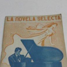 Libros antiguos: VICENTE BLASCO IBAÑEZ: EL ADIOS DE SCHUBERT. LA NOVELA SELECTA.. Lote 44983321