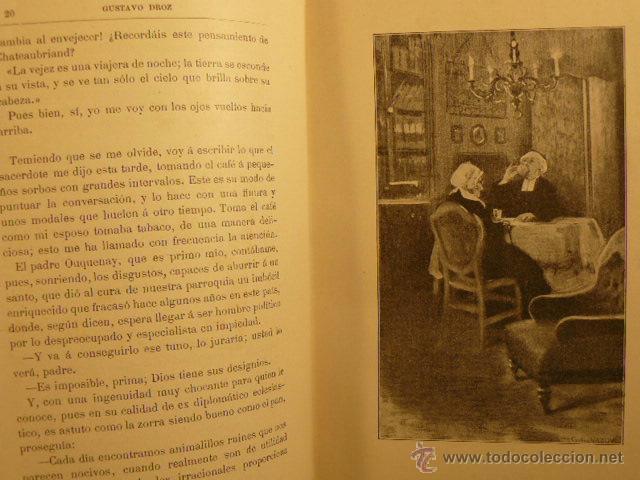 Libros antiguos: TRISTEZAS Y SONRISAS DE GUSTAVO DROZ - Foto 3 - 45007700