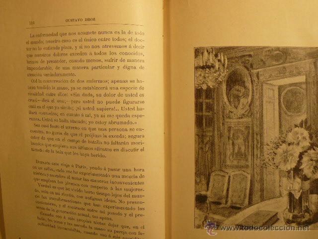 Libros antiguos: TRISTEZAS Y SONRISAS DE GUSTAVO DROZ - Foto 4 - 45007700